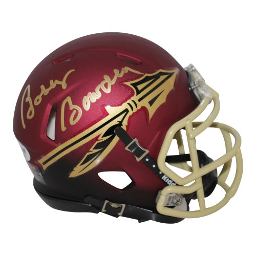 Bobby Bowden Autographed Signed Florida State Seminoles Garnet and Black Speed Mini Helmet- PSA/DNA Authentic