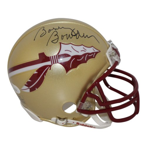 Bobby Bowden Autographed Signed Florida State Seminoles Gold Mini Helmet - JSA Certified