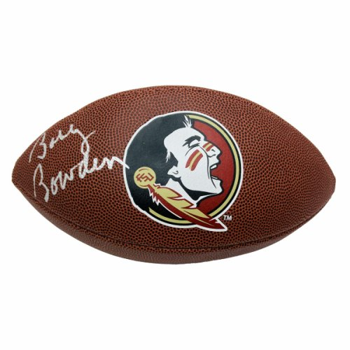 Bobby Bowden Autographed Signed Florida State Seminoles Logo Wilson Football - Certified Authentic