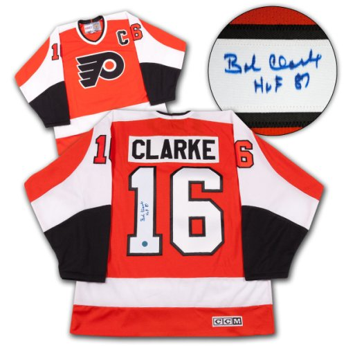 d293323c4 Bobby Clarke Philadelphia Flyers Autographed Signed Stanley Cup Retro CCM  Jersey - Certified Authentic