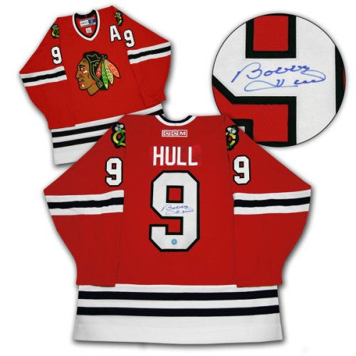 cheap for discount 00b0d a3c47 Bobby Hull Chicago Blackhawks Autographed Signed Retro CCM ...