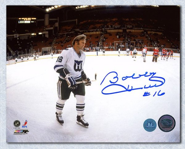 Bobby Hull Hartford Whalers Autographed Signed NHL Panoramic 8x10 Photo -  Certified Authentic b71389c89