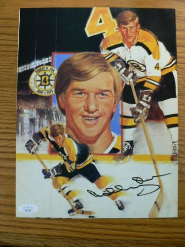 Bobby Orr Autographed Signed Beckett Cover Boston Bruins JSA Certified