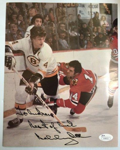 Bobby Orr Autographed Signed Boston Bruins Hhof #4 Autograph 8X10 Photo - JSA - Free S&H!