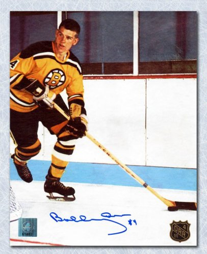 Bobby Orr Boston Bruins Autographed Signed 1st NHL Game 50th Anniversary 8x10 Photo