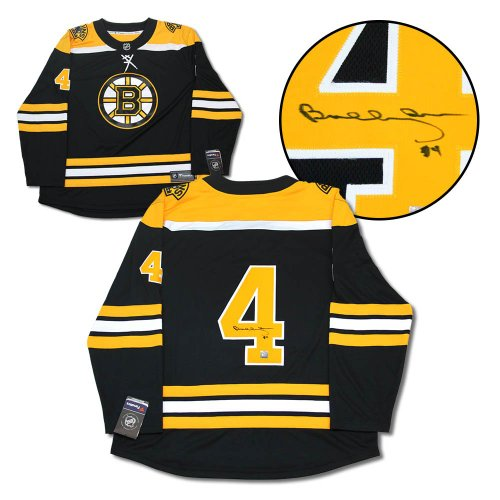 Bobby Orr Boston Bruins Autographed Signed Black Fanatics Hockey Jersey: GNR COA