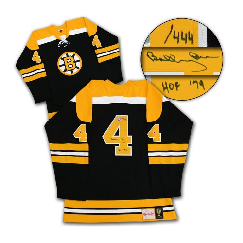 Bobby Orr Boston Bruins Autographed Signed Mitchell & Ness Jersey HOF-79 #/444