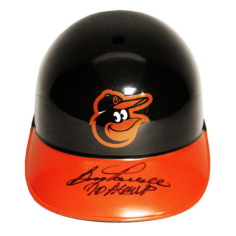 Boog Powell Autographed Signed Baltimore Orioles Batting Helmet with 70 AL MVP Inscription - JSA Authentic