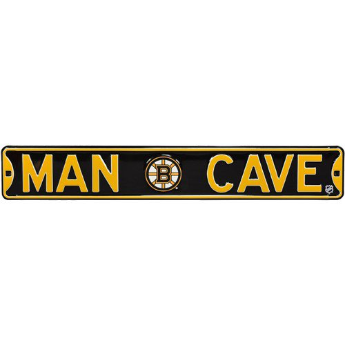 Boston Bruins MAN CAVE Authentic Street Sign