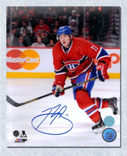 Brendan Gallagher Montreal Canadiens Autographed Signed Game Action 8x10  Photo - Certified Authentic 220f1625a