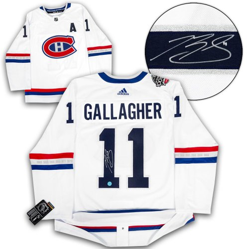 Brendan Gallagher Montreal Canadiens Autographed Signed 1st Game  73 Reebok  Premier Jersey - Certified Authentic 3ac0f1577