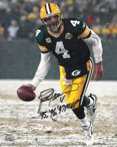 promo code 6f4fd 1cc13 Brett Favre   Autographed Football Memorabilia & NFL Merchandise
