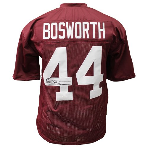 568de678 Brian Bosworth Autographed Signed Oklahoma Sooners Home Jersey - JSA  Certified Authentic