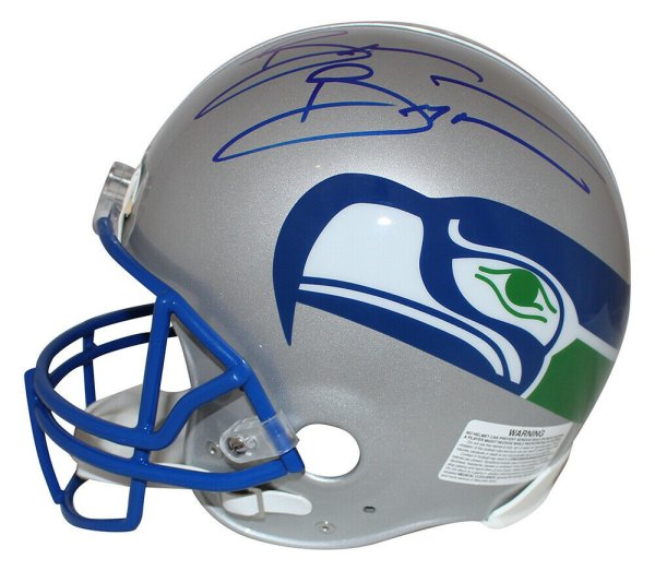 Brian Bosworth Autographed Seattle Seahawks Mini Helmet In Black MCS Holo Stock #161504