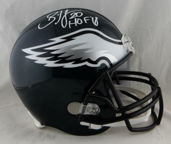 617fea1cf7b Brian Dawkins Autographed Signed Eagles Full Size Helmet Hof- JSA Authentic