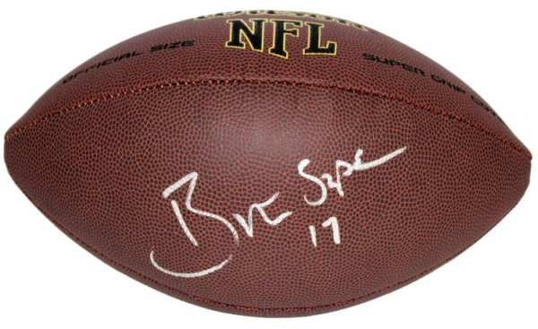 8b874061a42 Brian Sipe Cleveland Browns Autographed Signed Wilson NFL Super Grip  Football - PSA DNA Authentic