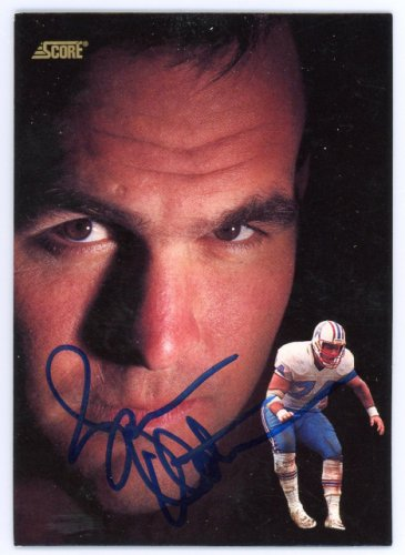 Bruce Matthews Autographed Signed Auto 1991 Score Card #684 Houston Oilers - Certified Authentic