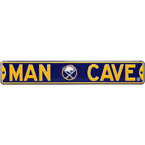 Buffalo Sabres MAN CAVE Authentic Street Sign