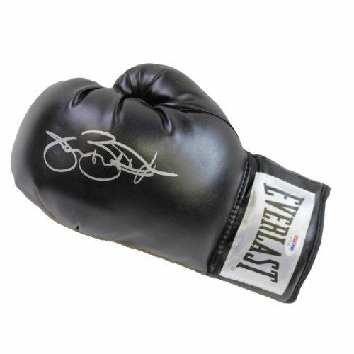Buster Douglas Autographed Signed Autographed Black Everlast Boxing Glove - PSA/DNA Authentic