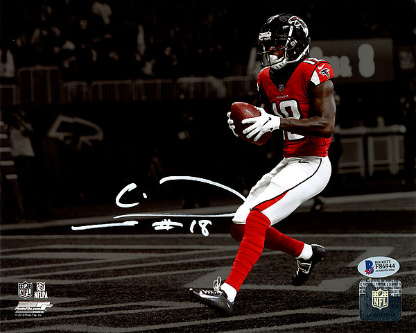 Calvin Ridley Autographed Signed 8x10 Photo Atlanta Falcons - Beckett  Authentic dae0126c7