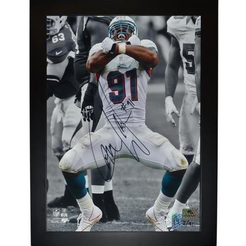 wholesale dealer a91a5 c0c25 Cameron Wake Autographed Memorabilia | Signed Photo, Jersey ...