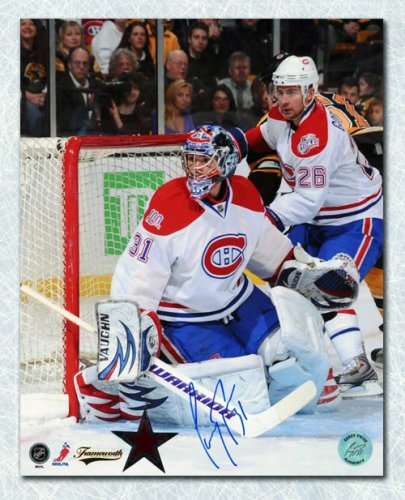 Carey Price Montreal Canadiens Autographed Signed Game Action Autographed Signed 16x20 Photo