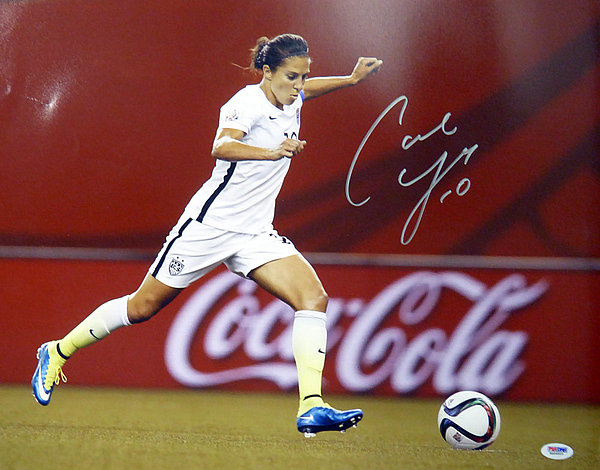 3014eebf1 Carli Lloyd Autographed Signed 16x20 Photo Team USA - PSA DNA Authentication