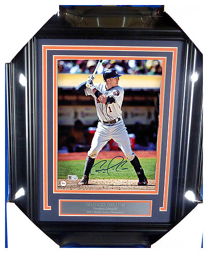 5a3bc974e5c Carlos Correa Autographed Signed Framed 8x10 Photo Houston Astros -  Certified Authentic