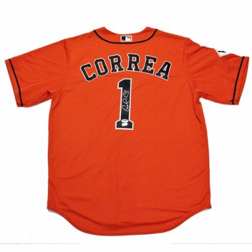 Carlos Correa Autographed Signed Houston Astros Orange Baseball Jersey - PSA/DNA Authentic