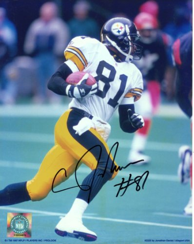 839caa03c36 Charles Johnson Pittsburgh Steelers Autographed Signed 8x10 Photo -  Certified Authentic