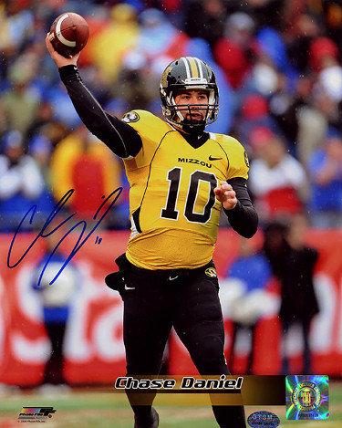 Chase Daniel Autographed Signed Memorabilia Missouri Tigers 8x10 ...