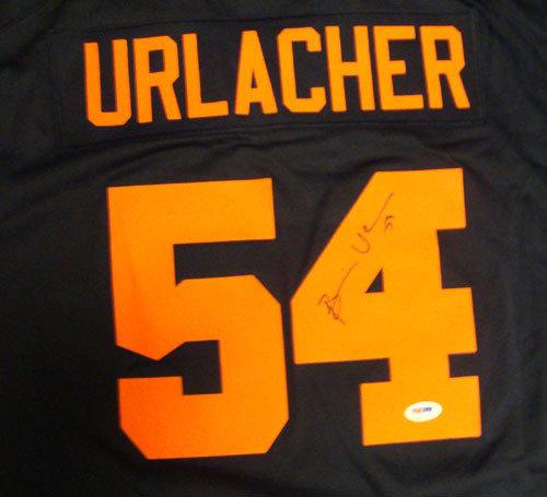 orange brian urlacher jersey