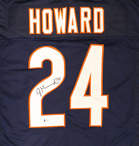 fc82c9bac Chicago Bears Jordan Howard Autographed Signed Blue Jersey - Beckett  Authentic