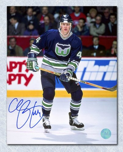 Chris Pronger Hartford Whalers Autographed Signed Rookie 8x10 Photo -  Certified Authentic 8044af4a8
