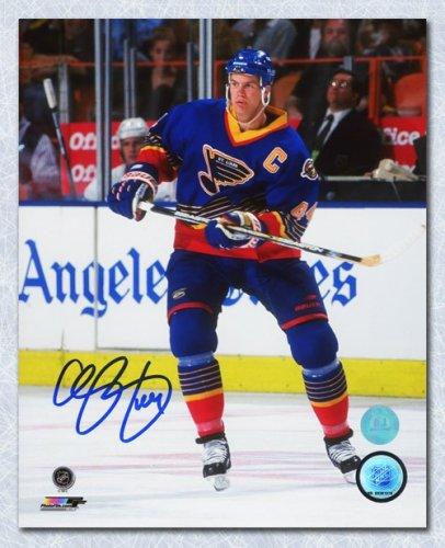 Chris Pronger St. Louis Blues Autographed Signed Hockey Captain 8x10 Photo  - Certified Authentic cf81f6964