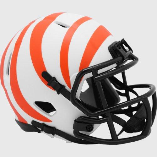 Cincinnati Bengals NFL Mini Speed Football Helmet LUNAR