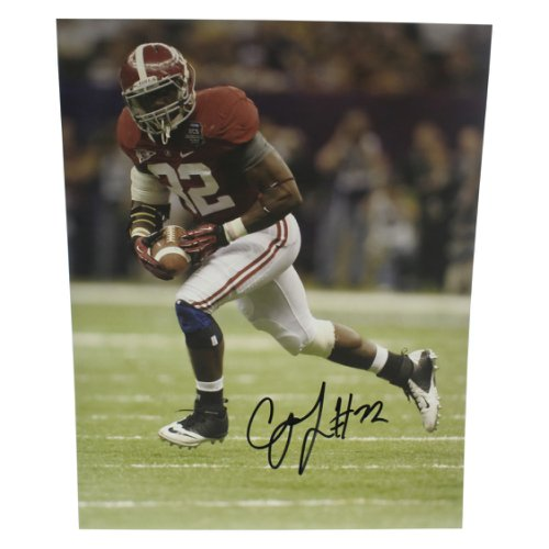 Tyrone Prothro Alabama Crimson Tide Autographed Signed 8x12 Photo Blue Signature Certified Authentic