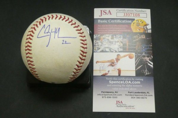 Clayton Kershaw Autographed Signed Game Used Baseball With JSA COA