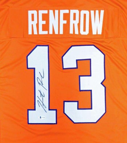 Clemson Tigers Hunter Renfrow Autographed Signed Orange Jersey Beckett BAS
