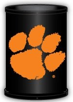 Clemson Tigers Trashcan