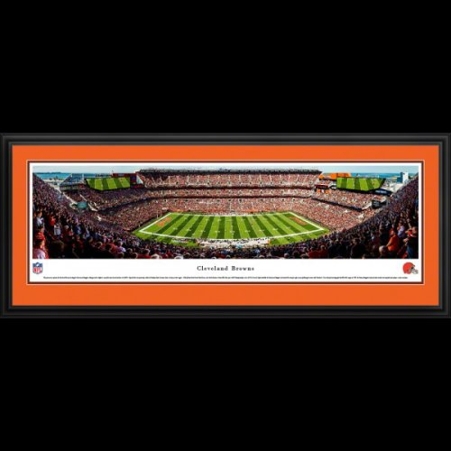 Cleveland Browns Deluxe Framed Stadium Panoramic