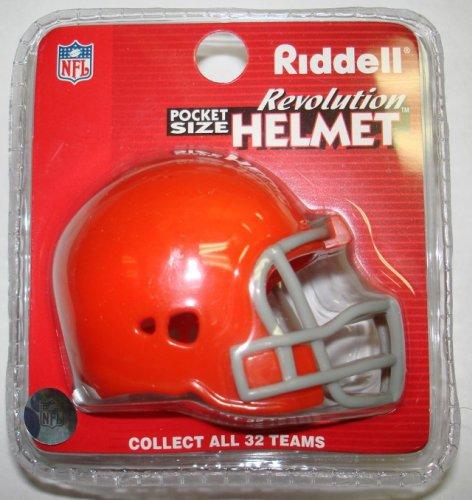 Cleveland Browns Riddell Pocket Pro Football Helmet