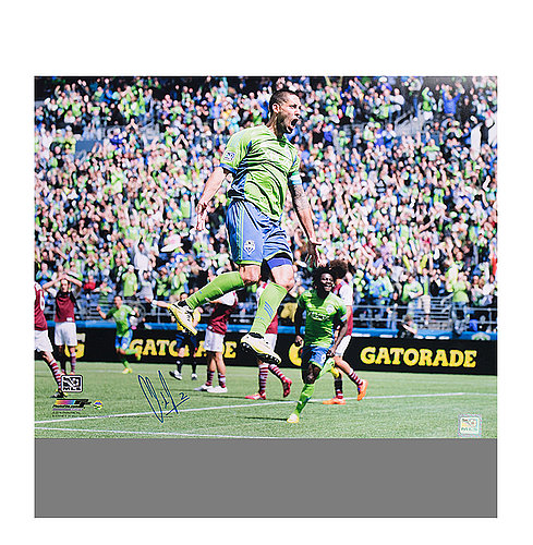 new concept 83448 348c5 Clint Dempsey Autographed Signed Seattle Sounders 12x18 Photo - Certified  Authentic Soccer Signature