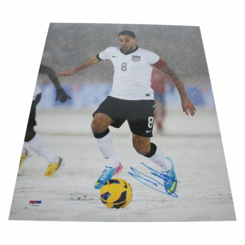 755c09fde Clint Dempsey Team USA Autographed Signed 11x14 Photo - PSA/DNA Authentic
