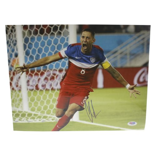 8f870eb6b05 Clint Dempsey Team USA Autographed Signed 11x14 Photo - PSA DNA Authentic