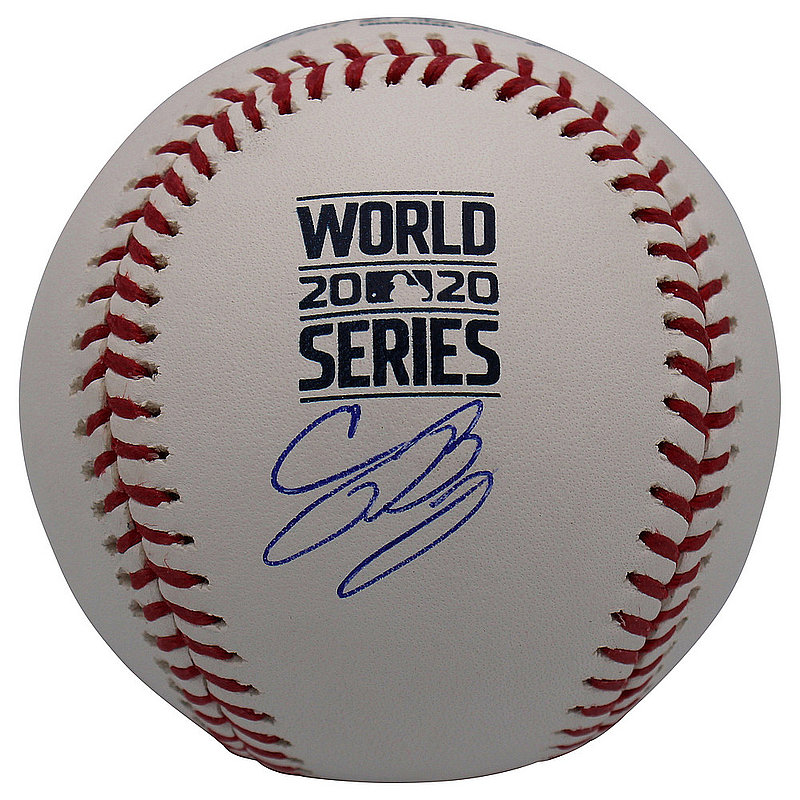 Cody Bellinger Autographed Signed Los Angeles Dodgers 2020 World Series Rawlings Baseball - Fanatics Authentic
