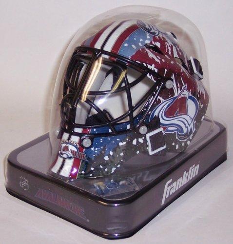 Colorado Avalanche Franklin Sports NHL Mini Goalie Mask
