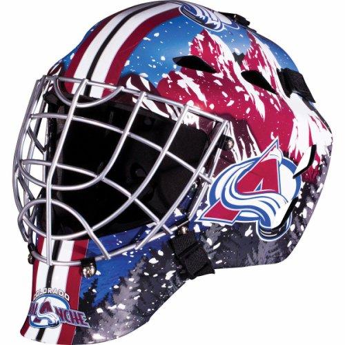 Colorado Avalanche Full Size Youth Goalie Hockey Mask