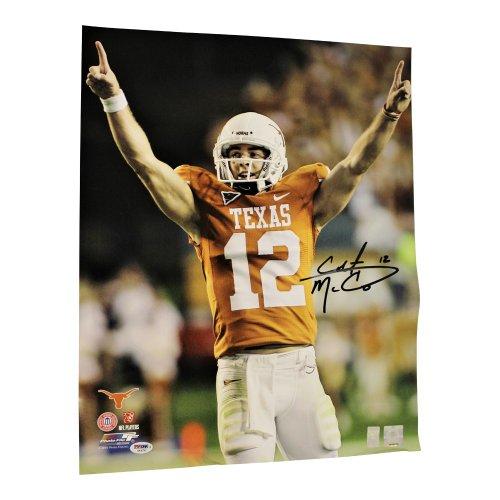 Colt McCoy Autographed Signed Texas Longhorns 16x20 Photo - PSA/DNA Authentic