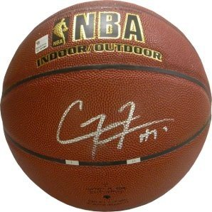 Corey Maggette Autographed Signed IndoorOutdoor Basketball - Certified Authentic